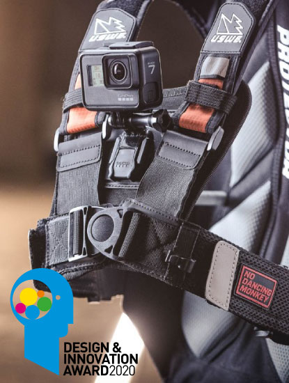 AWARD WINNER - THE USWE ACTION CAMERA HARNESS