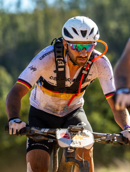 CANNONDALE FACTORY RACING USING THE NEW USWE HYDRATION PACK AT CAPE EPIC 2020